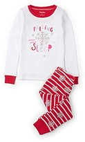 Hatley Girl's Long Sleeve Waffle Appliqué Pyjama Sets