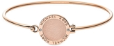 Michael Kors Heritage Rose Gold-tone Logo Bangle