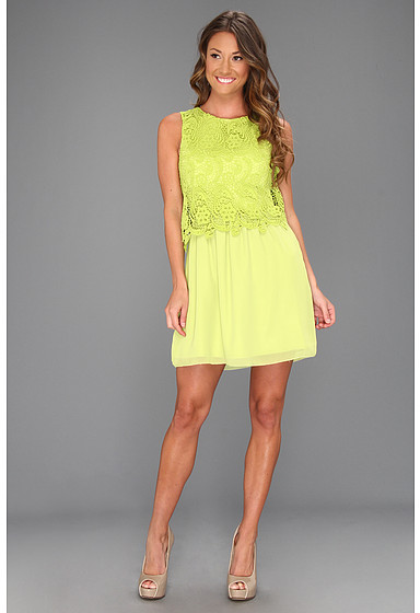 Kensie Chunky Lace Dress