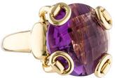 Gucci Amethyst Horsebit Ring