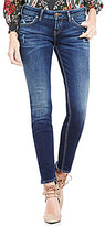 Silver Jeans Co. Aiko Mid Distressed Skinny Jeans