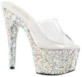 Pleaser USA Women's Bejeweled 701MR Platform Slide