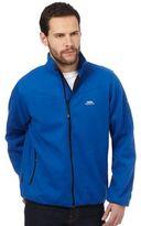 Trespass Blue Logo Embroidered Fleece Jumper