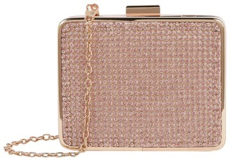 David Charles Diamante Box Clutch Bag