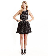 Karen Kane Emma Lace-Pattern Fit-and-Flare Dress