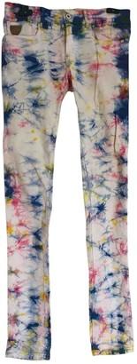 April 77 Multicolour Cotton Trousers for Women