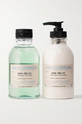 C.O. Bigelow Iconic Collection Body Wash And Lotion Set - Aqua Mellis