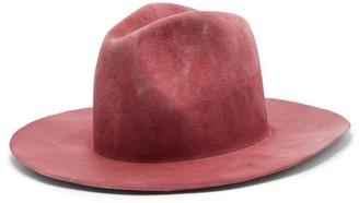 Reinhard Plank Hats - Bonica Felt Fedora - Pink