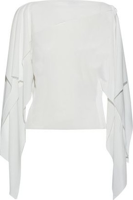 Thierry Mugler Draped Cady Top