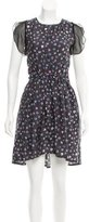 Band Of Outsiders Silk Printed Dress w/ Tags