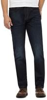Mantaray Navy Mid Wash Straight Fit Jeans