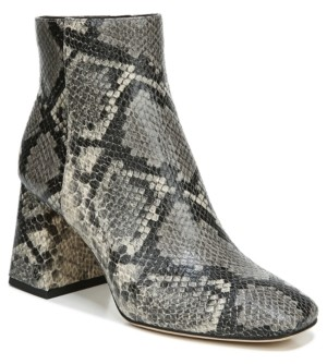 Sam Edelman Women's Kate Square-Toe Booties Women's Shoes