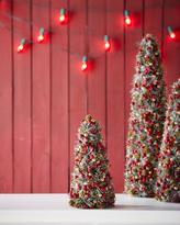 "Salzburg Creations Winterberry Pine Cone 12"" Tree"