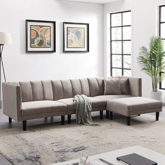 Gray Sectional Shop The World S Largest Collection Of Fashion Shopstyle