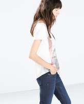 Zara Photo Print T-Shirt