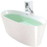 Vinyasa True Solid Surface Soaking Tub