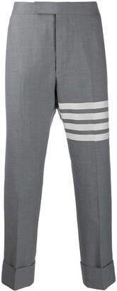 Thom Browne 4-Bar backstrap trousers
