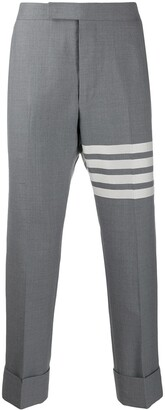 Thom Browne Plain Weave Suiting 4-Bar Trousers