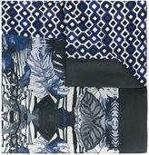 fe-fe multi-print scarf - unisex - Silk - One Size