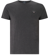Gant Crew Neck Cotton T-shirt