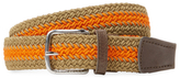 J. Lindeberg Chap 35 Striped Elastic Braided Belt