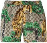 Gucci Bengal swim shorts