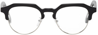 Paul Smith Black Round Barber Glasses