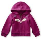 Tea Collection Infant Girl's Fox Face Zip Hoodie