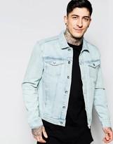 Minimum Bleached Denim Jacket
