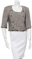 Chanel Tweed Cropped Jacket