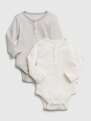 Gap Baby Organic Bodysuit (2-Pack)
