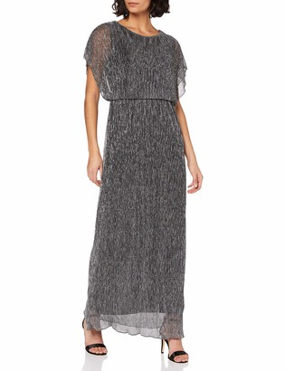 Yumi Women's London-Vertical Shimmer Maxi Dress Casual
