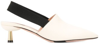 Bally Two-Tone 55mm Slip-On Sandals