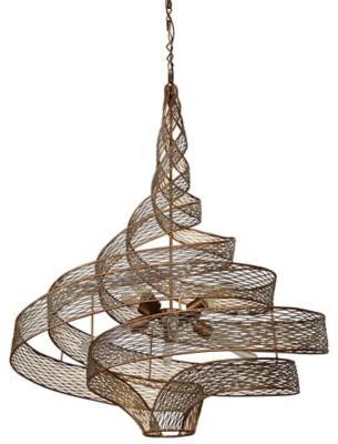 Varaluz Flow 6-Light Large Twist Pendant Light