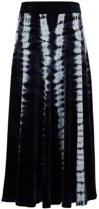 Proenza Schouler Long tie-dye skirt