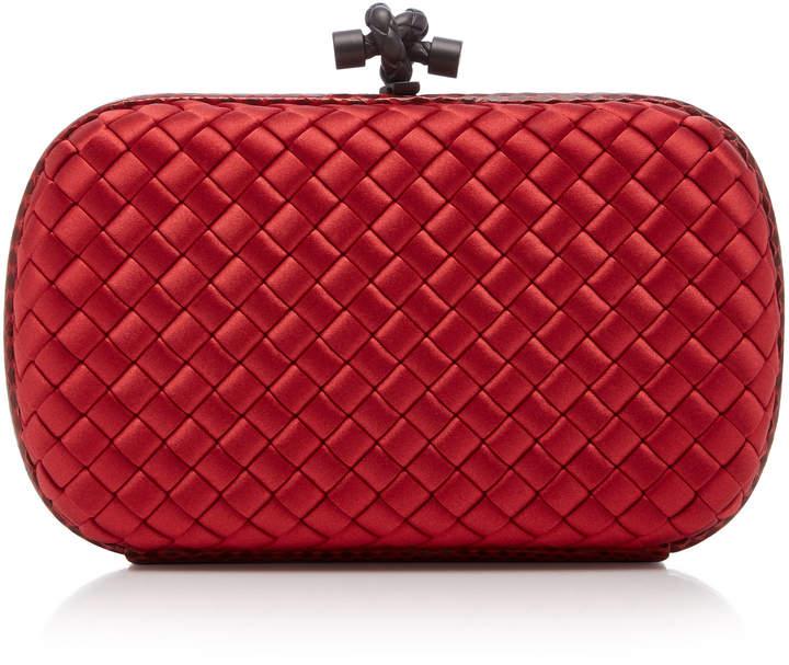 8b23a7b12c7 Red Satin Clutch Bag - ShopStyle UK