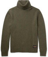 Stella McCartney Cashmere and Wool-Blend Rollneck Sweater
