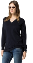 Tommy Hilfiger Final Sale-Spring Weight V-Neck Sweater