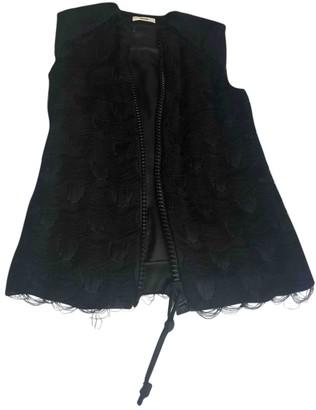 Celine Black Viscose Jackets