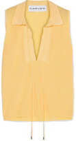 Carven Knitted Top - Yellow