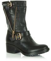 Daniel Passeri flat biker boots