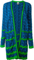 M Missoni geometric pattern cardigan - women - Cotton/Polyamide/Polyester - XS
