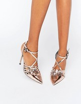 Asos PEPPIN Caged Pointed Heels