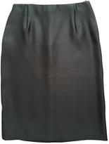 Miu Miu Silk mid-length skirt