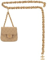 Chanel Pre Owned mini quilted belt bag