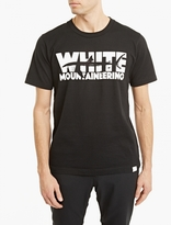 White Mountaineering Black Logo Print T-shirt