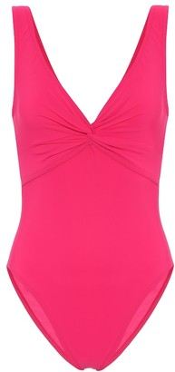 Karla Colletto Exclusive to Mytheresa Twist V-neck swimsuit