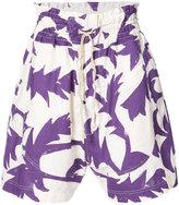Vivienne Westwood leaf print deck shorts