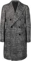 Tagliatore houndstooth double breasted coat