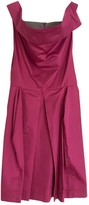 Vivienne Westwood Pink Cotton Dress for Women